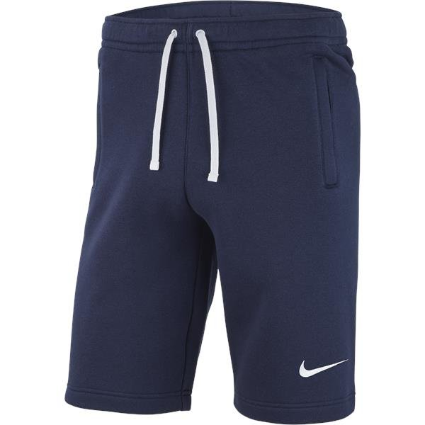 Nike Team Club 19 Short Obsidian/White