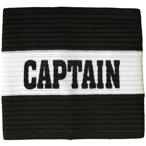 Junior Captain Armband Black/White