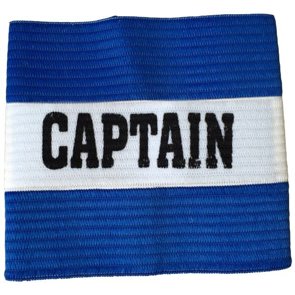 Junior Captain Armband Blue/White