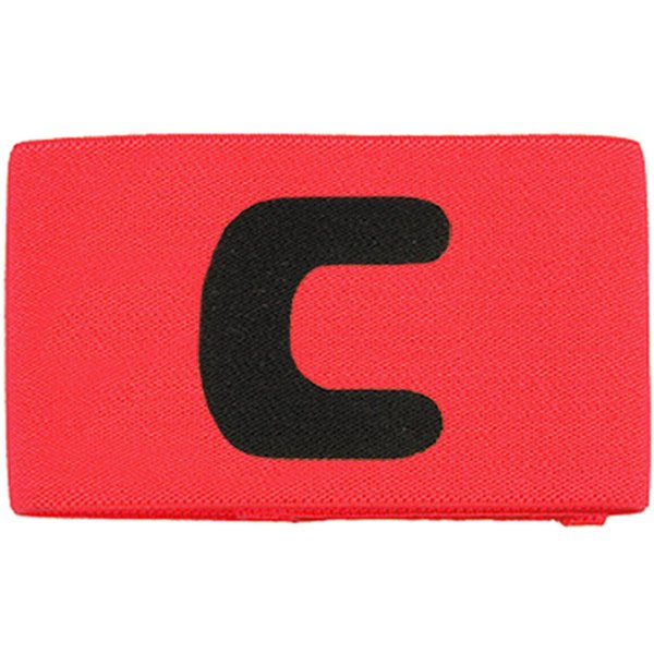 Deluxe Junior Captain Armband Red/Black