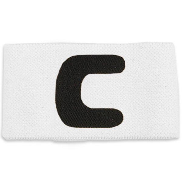 Deluxe Senior Captain Armband White/Black