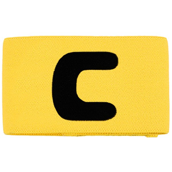 Deluxe Junior Captain Armband Yellow/Black