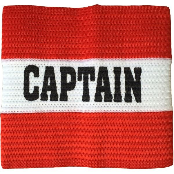 Junior Captain Armband Red/White
