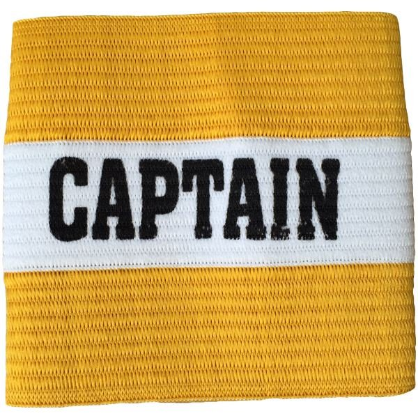 Senior Captain Armband Yellow/White