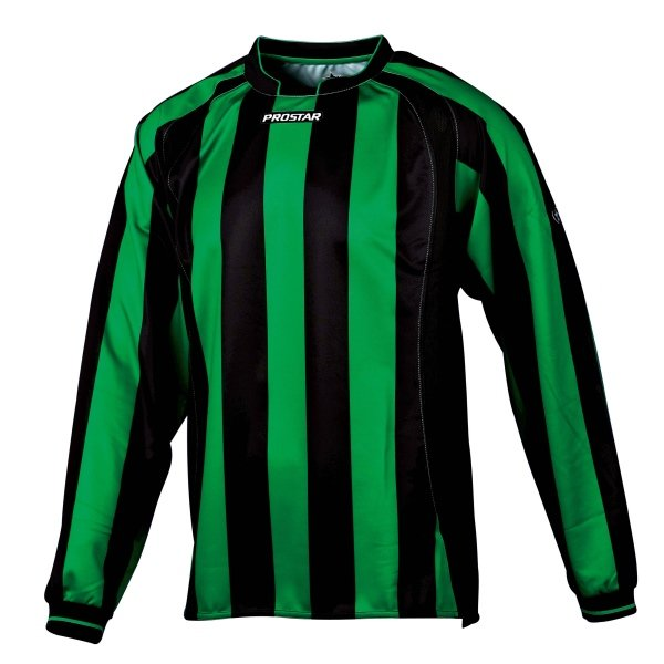 Prostar Avellino Black/Emerald Football Shirt