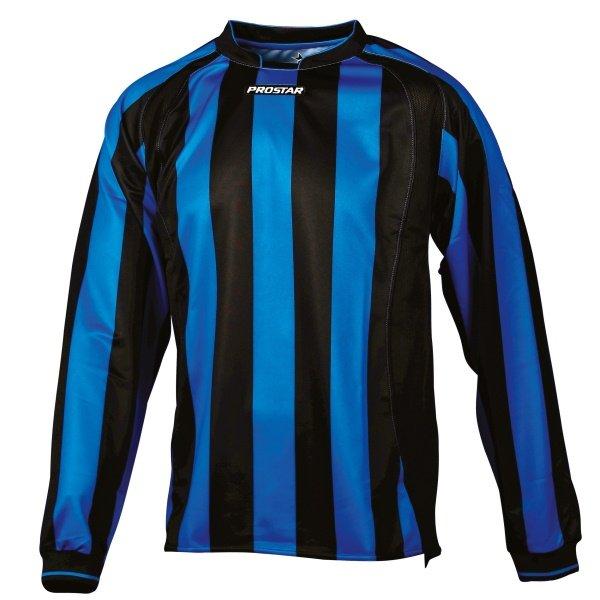 Prostar Avellino Black/Azure Football Shirt