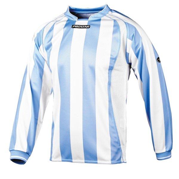Prostar Avellino Sky/White Football Shirt