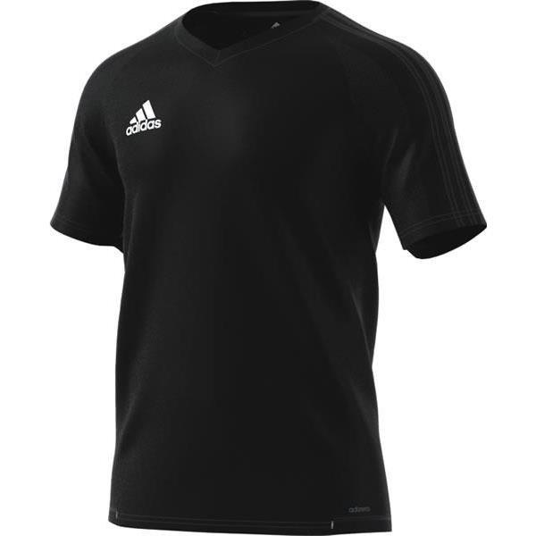 adidas Tiro 17 Black/Dark Grey Training Jersey