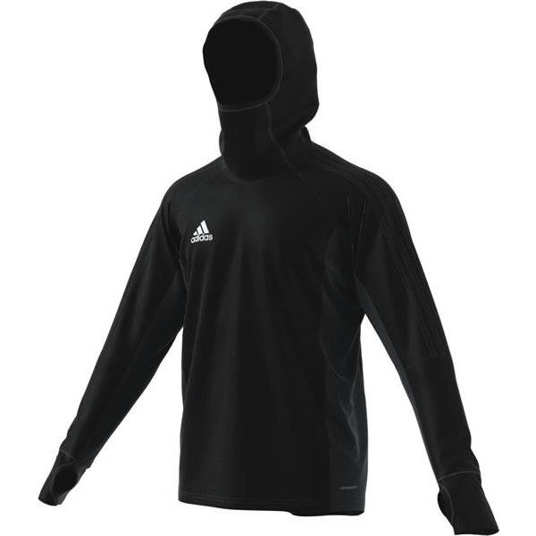 adidas Tiro 17 Warm Top White/black
