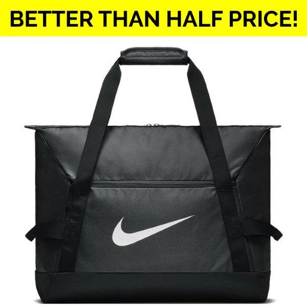 Nike Club Team Duffel Bag Black/White