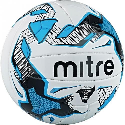Mitre Malmo Plus Training Football White/Black