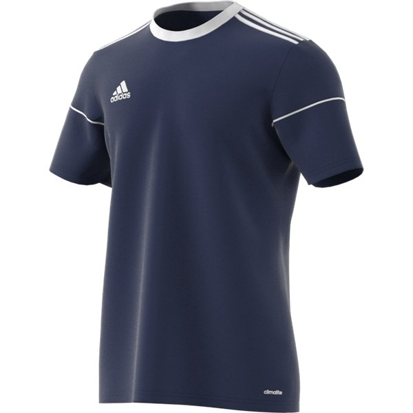 adidas Squadra 17 SS Dark Blue/White Football Shirt