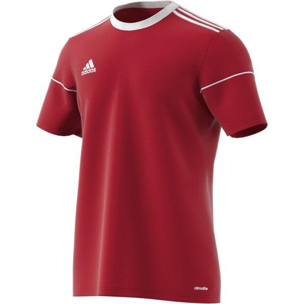 adidas Squadra 17 SS Power Red/White Football Shirt