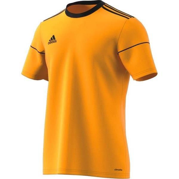 adidas Squadra 17 SS Bold Gold/Black Football Shirt