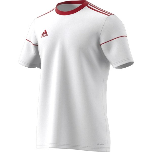 adidas Squadra 17 SS White/Power Red Football Shirt