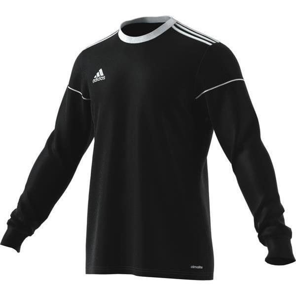 adidas Squadra 17 LS Football Shirt White/clear Grey