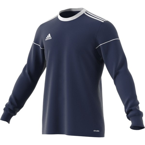 adidas Squadra 17 LS Dark Blue/White Football Shirt