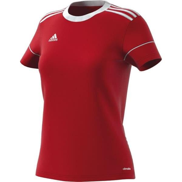 adidas Squadra 17 Womens Power Red/White Football Shirt