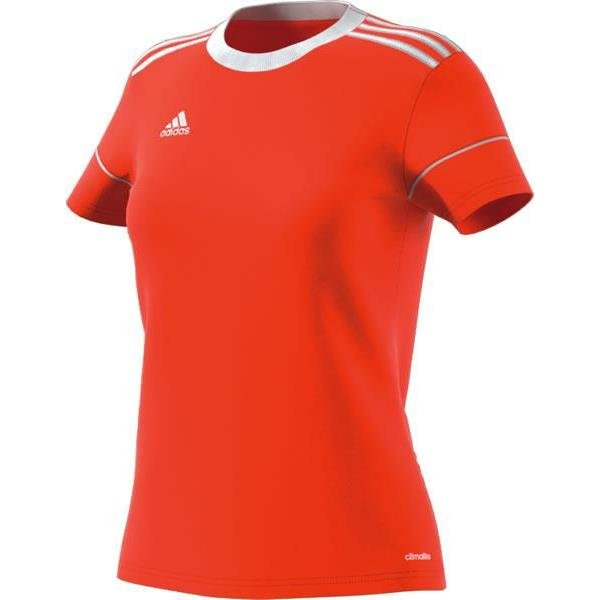 adidas Squadra 17 Womens Orange/White Football Shirt