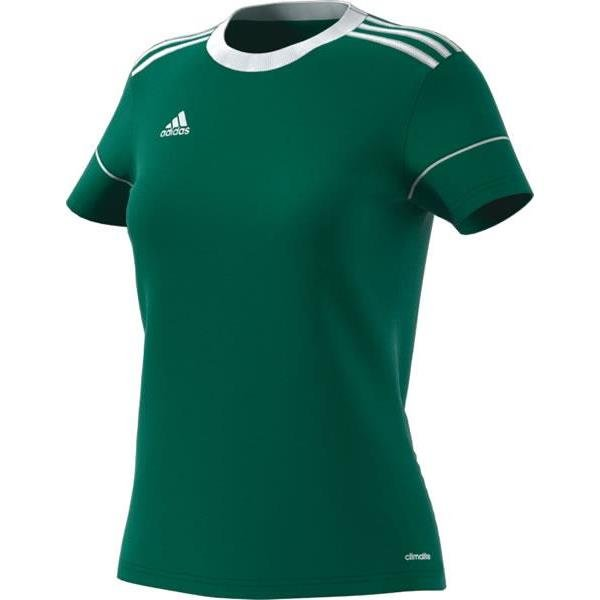 adidas Squadra 17 Womens Bold Green/White Football Shirt