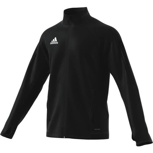 adidas Tiro 17 Training Jacket White/black