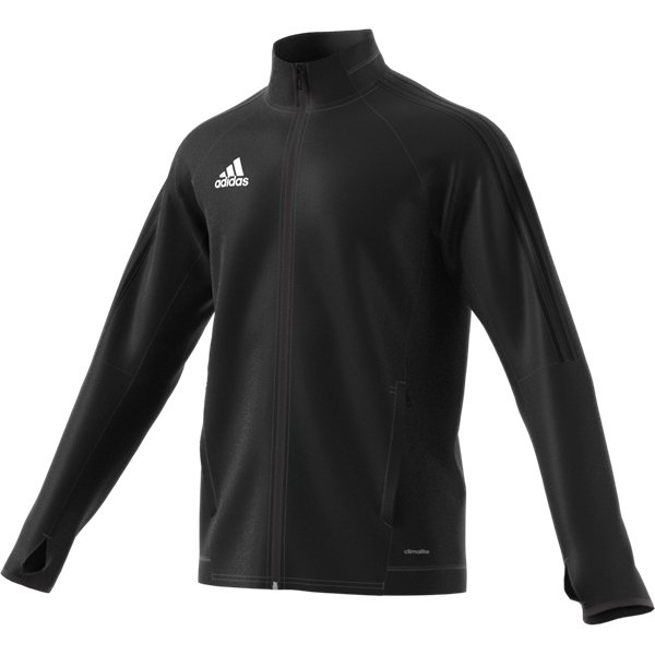 adidas Tiro 17 Black/White Training Jacket Youths