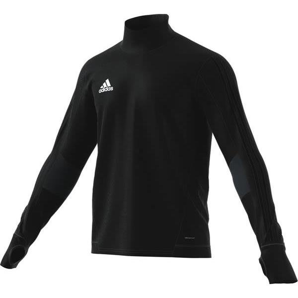 adidas Tiro 17 Training Top White/black