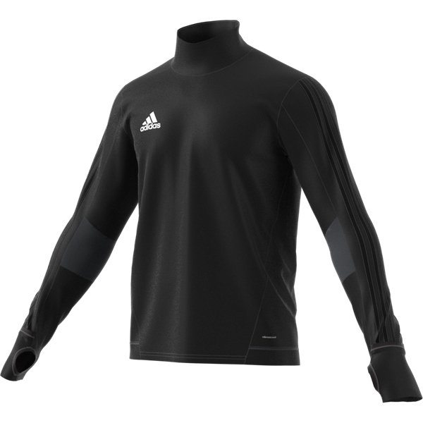 adidas Tiro 17 Black/Dark Grey Training Top Youths