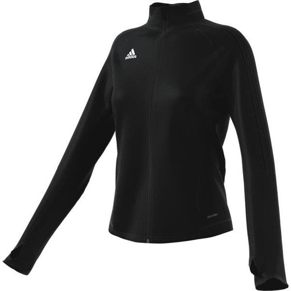 adidas Tiro 17 Womens Training Jacket White/black