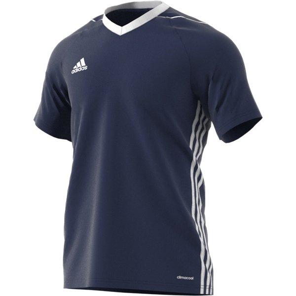 adidas Tiro 17 Dark Blue/White Football Shirt
