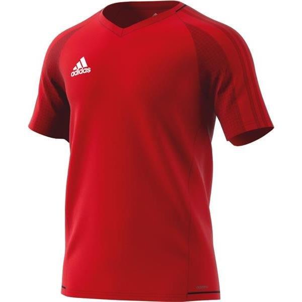 adidas Tiro 17 Scarlet/Black Training Jersey