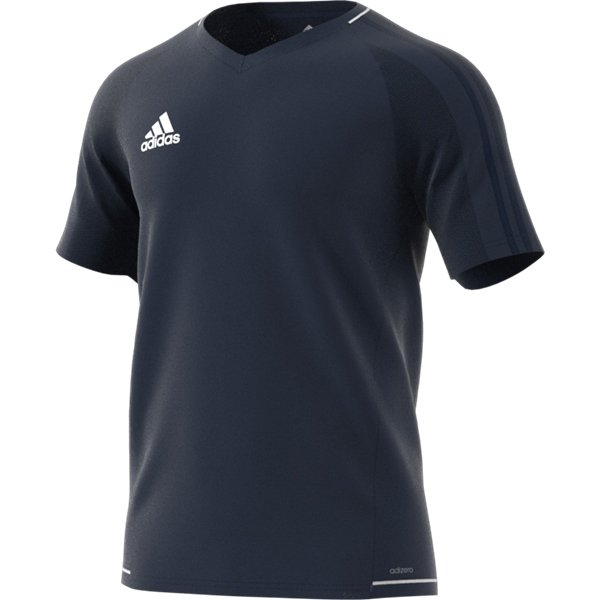 adidas Tiro 17 Collegiate Navy/White Training Jersey Youths