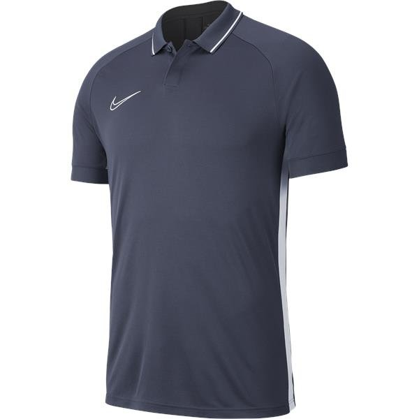 Nike Academy 19 Polo Anthracite/White