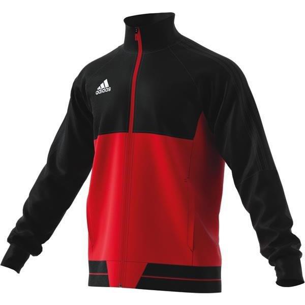 adidas Tiro 17 Black/Scarlet Pes Jacket