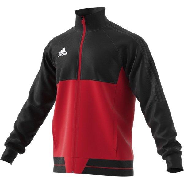 adidas Tiro 17 Black/Scarlet Pes Jacket Youths