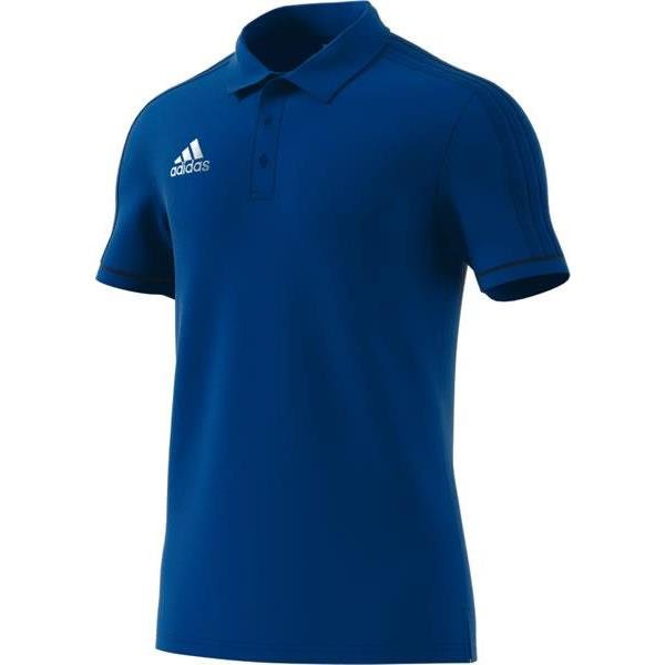 adidas Tiro 17 Cotton Polo White/black