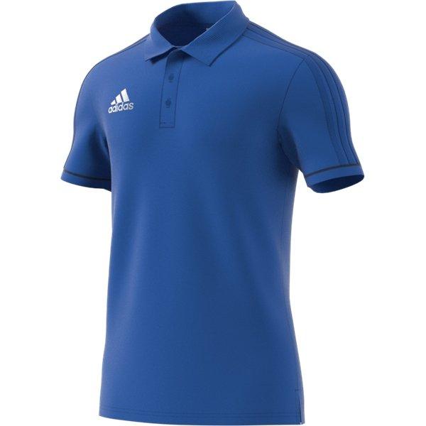 adidas Tiro 17 Blue/Collegiate Navy Cotton Polo Youths
