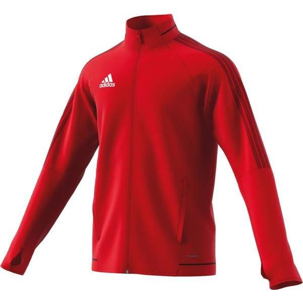 adidas Tiro 17 Scarlet/Black Training Jacket