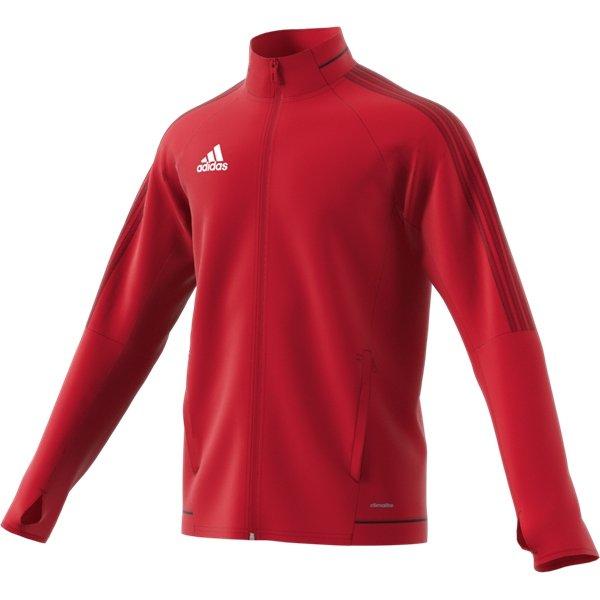 adidas Tiro 17 Scarlet/Black Training Jacket Youths