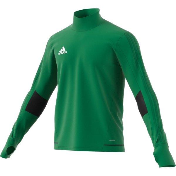 adidas Tiro 17 Green/Black Training Top Youths