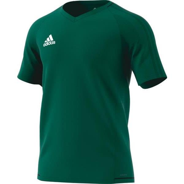 adidas Tiro 17 Green/Black Training Jersey