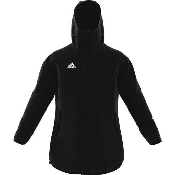 adidas Jacket 18 Black/White Stadium Parker