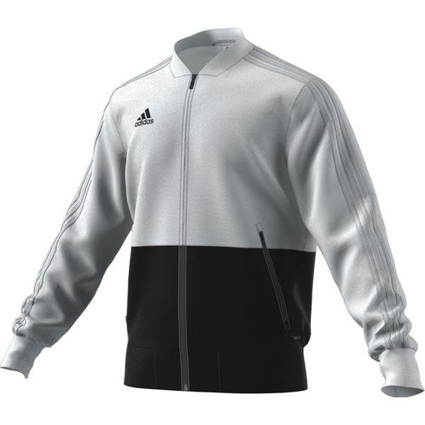 adidas Condivo 18 White/Black Presentation Jacket