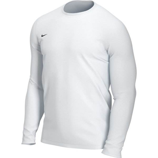 Nike Park VII LS Football Shirt White/Black