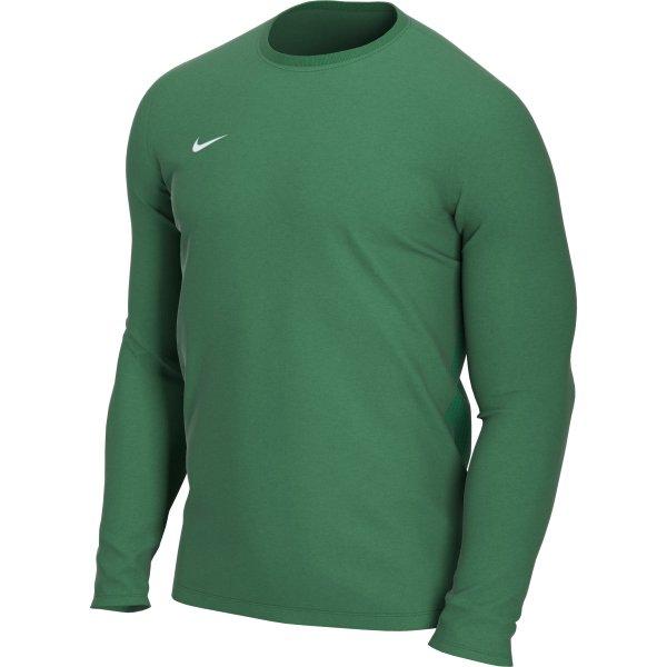 Nike Park VII LS Football Shirt Pine Green/White