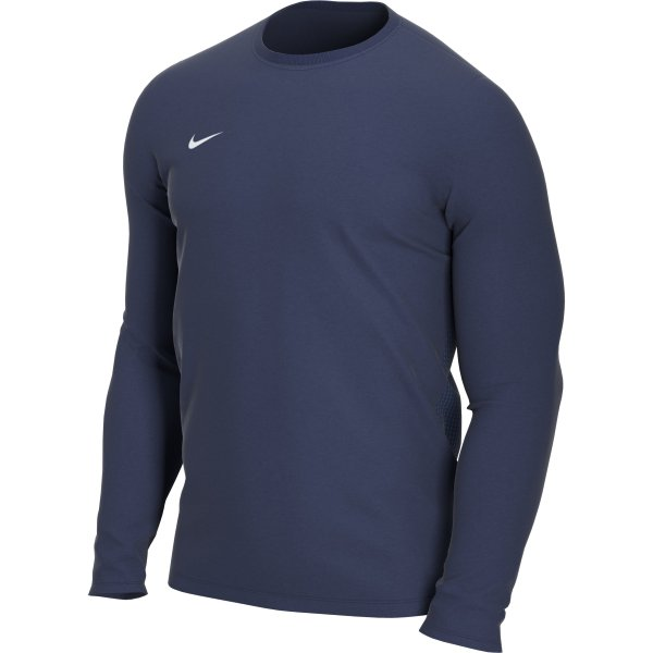 Nike Park VII LS Football Shirt Midnight Navy/White