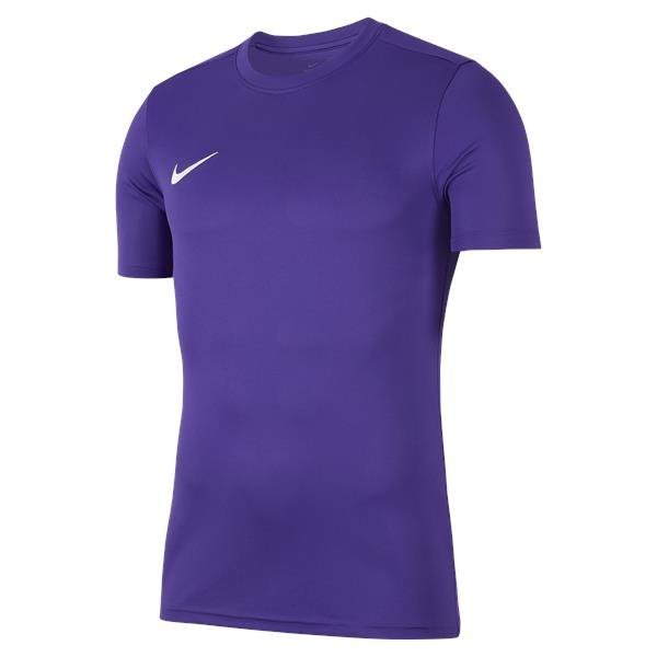 Nike Park VII SS Football Shirt Court Purple/White