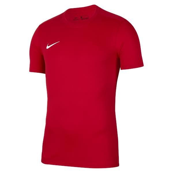 Nike Park VII SS Football Shirt University Red/White