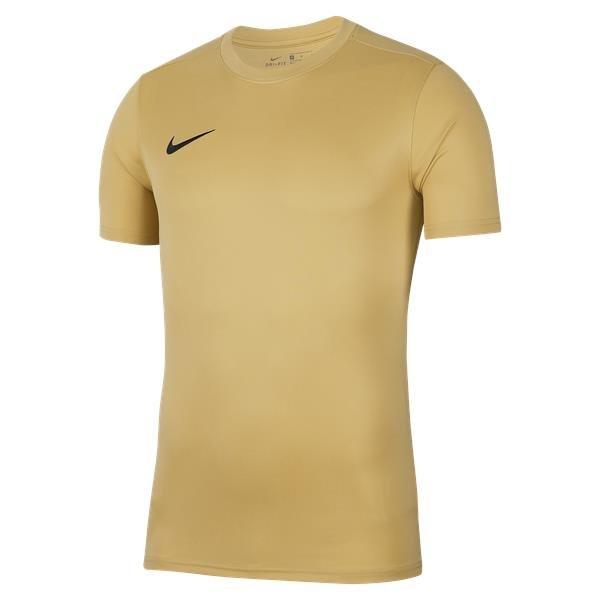 Nike Park VII SS Football Shirt Jersey Gold/Black
