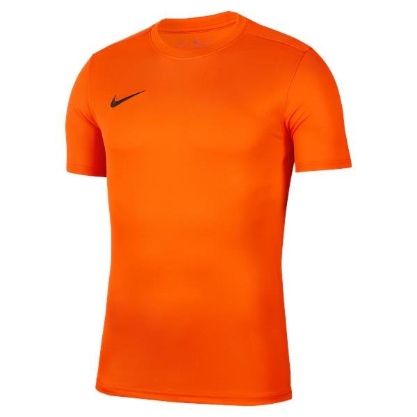 Nike Park VII SS Football Shirt Safety Orange/Black